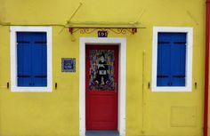 Poppiges Haus auf Burano, Venedig - Foto: S. Hopp
