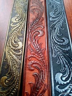 "Nice blog outlining various leatherworking tutorials.  In the words of the blogger; ""My instructions for doing leatherwork as an art and a craft."""