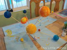 model solar system