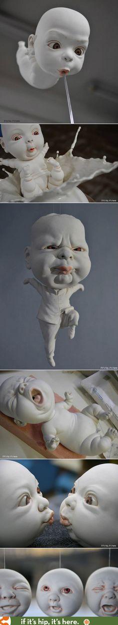 "Porcelain ""babies' by Johnson Tsang #Pikock www.pikock.com"
