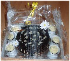 Birthday cake with cupcakes Birthday Cake, Cupcakes, Cupcake Cakes, Birthday Cakes, Cake Birthday, Cup Cakes, Muffin, Cupcake