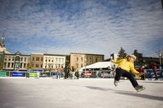 Photo Gallery: Ice skating in Lexington's Triangle Park