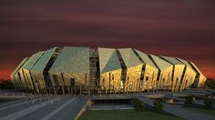 AFL's FC kuban stadium in russia aims to intimidate  #architecture - ☮k☮