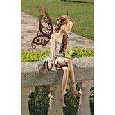 Found it at Wayfair - Design Toscano Fannie, the Fairy Sitting Statue