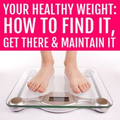 What is your healthy weight?