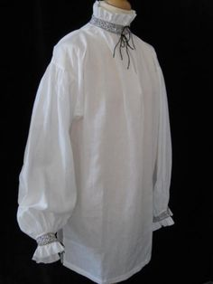 Elizabethan Blackwork Shirt (SH121B)