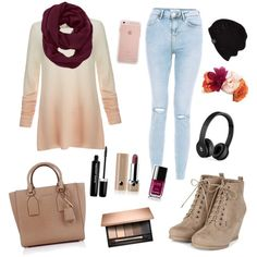 A fashion look from March 2016 by scamper623 featuring Joie, Michael Kors, Athleta, UGG Australia, Beats by Dr. Dre, Marc Jacobs y Chanel