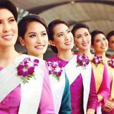 Thai Airways cabin crews