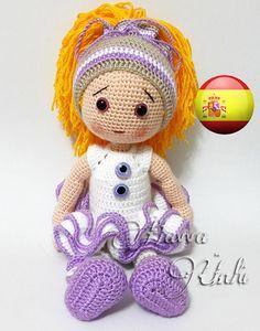 Patrón Español - Muñeca Eva