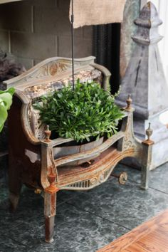 Out of the Pot Planters - Eclectically Vintage