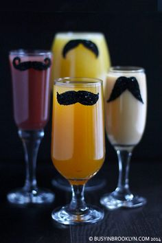 DIY glitter mustache glasses for Purim with lots of variations and a FREE mustache template!