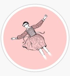 Eleven in Pink Heaven Sticker