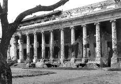 Rizal Hall, University of the Philippines, Manila, Philippines October 1945 Filipino Architecture, Ancient Greek Architecture, Gothic Architecture, Countries Of Asia, Philippine Holidays, Filipino Tattoos, Manila Philippines, Mayan Ruins, Angkor Wat