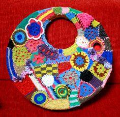 crochet patchwork bag by kumiko_sherqi, via Flickr