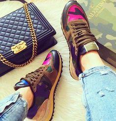 Chanel and Valentino