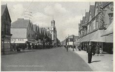 Linthorpe Road, Middlesbrough by .moments - images of today, via… Middlesbrough England, Home History, Family History, Salt Of The Earth, North East England, Northern England, Picture Postcards, City Of Angels, North Yorkshire