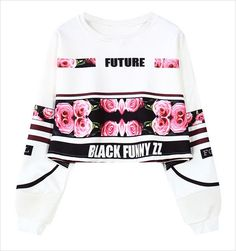 woman's sweatshirt harajuku letters sexy crop top punk hip-hop hoody large size sudaderas mujer fashion feminino moleton WH-063