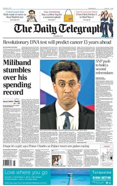 Daily Telegraph - 1.5.15