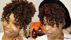 How To Get  Awesome Summer Ready Heatless Curls [Video] - http://community.blackhairinformation.com/video-gallery/natural-hair-videos/get-awesome-summer-ready-heatless-curls-video/