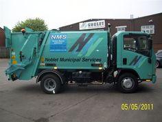 NTM K-MIDI Mini małe śmieciarki, small refuse truck, klein Kommunalfahrzeuge, Benne a ordures, Recolectores, piccoli camion