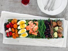 Nicoise Salad...this is one of my favorite recipes to make stolen from the one and only Julia Childs. So yummy and refreshing!