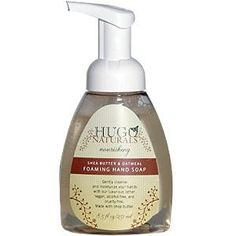 Hugo Naturals Foaming Hand Soap, Shea Butter and Oatmeal, 8.5-Ounce. #beauty, #skincare, #hands #nails #care