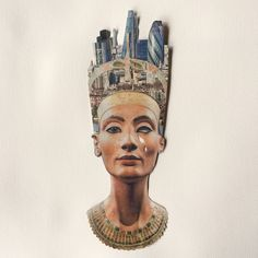 What would Nefertiti say? Collage from 60 Minute Stick.