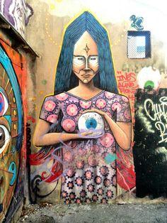 Marseille 6, cours julien, rue crudere (aout 2014)