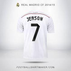 Camiseta Real Madrid CF 2014/2015 Jerson  7