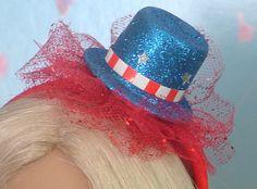 Fourth of July Headband for American Girl Dolls