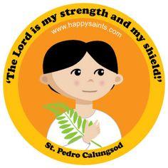St. Pedro Calungsod (1654 – 1672) canonized October 21, 2012