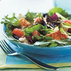 5-Ingredient Salads   Grilled Salmon and Grapefruit Salad with Blood Orange Vinaigrette   CookingLight.com