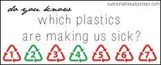 7 Types of Plastics, Where Youll Find Them, and Which You Should Avoid) - Go Green Blog - Sustainable Baby Steps