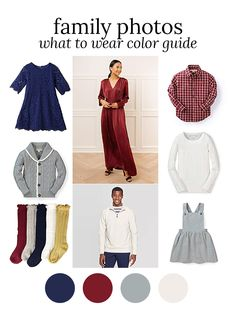 Color scheme for your winter family photos! The Family Photo blog Family Photos What To Wear, Winter Pictures, Family Pictures, Family Portrait Outfits, Family Picture Outfits, Family Portraits, Picture Color Schemes, Family Photo Colors