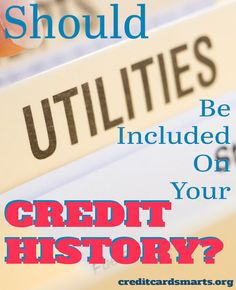 Many have sworn off the use of credit and prefer to use cash instead. But they may be hurting their credit scores. Could adding utilities to credit reporting help? http://creditcardsmarts.org/904/like-utility-payment-history-added-credit-report/