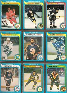 262-270 Jean Hamel, Stan Jonathan, Russ Anderson, Gordie Roberts, Bill Flett, Robbie Ftorek, Mike Amodeo, Vic Venasky, Bob Manno