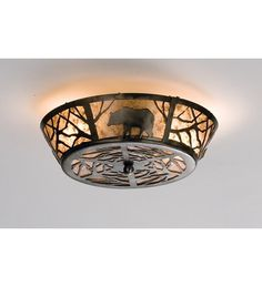 View the Meyda Tiffany 13390 Two Light Flush Mount Ceiling Fixture at LightingDirect.com.