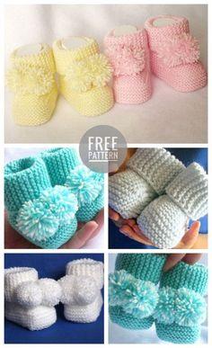 Der Neue Baby Booties häkeln kostenlose Muster  #booties #hakeln #kostenlose #muster