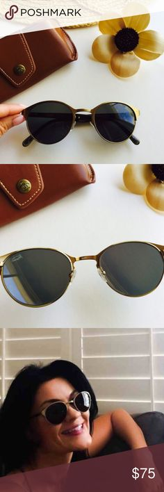 Original Penguin Retro Bronze Sunglasses Excellent very lightly preloved condition. Look brand new. Absolutely no scratches or flaws. Leather carry case with snap closure. Stunning, trendy glasses. Original Penguin Accessories Sunglasses