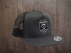 Sheriff s Trucker Hat    Charcoal Hockey gear 2dd4a6f2636d