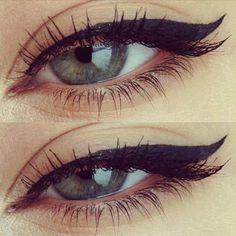eyeliner up close #mirabellabeauty #graphic #eyeliner