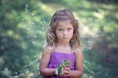 フリー写真, 人物, 子供, 女の子, 外国の女の子, ポートレイト, 妖精(フェアリー), フォトレタッチ,