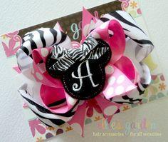 M2M Embroidered  Minnie Mouse Felt Center Boutique by elliesgarden, $10.99