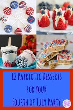 12 Patriotic Dessert