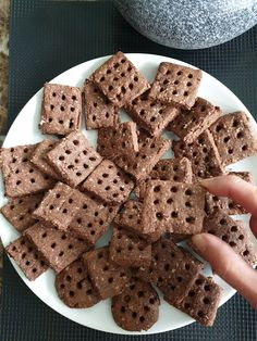 Biscuits Au Cacao, Cookies Et Biscuits, Recettes Anti-candida, Biscuit Sans Gluten, Dessert Sans Gluten, Healthy Snacks, Healthy Recipes, Fodmap, Gingerbread Cookies
