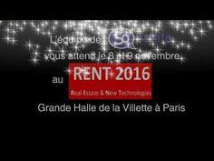 http://www.so-estate.com, sera présent le 8 et 9 nov 2016 au Rent2016 grande halle de la Villette à Paris