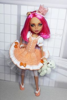 Howleen Repaint by Marina Gridina / SnowSpring Dolls (vk.com/snowspring.dolls)