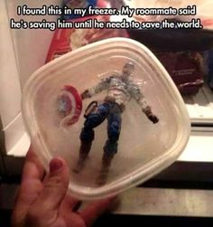 Both my brother and I would totally do this :D