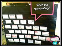 Currently Reading Book Cards (Teaching in Room 6th Grade Reading, Middle School Reading, Student Reading, Guided Reading, Teaching Reading, Teaching Ideas, Reading Logs, Reading Workshop, Reading Conference