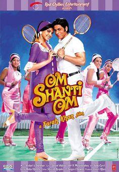 Cool Bollywood: Cinema Inside A Cinema Bollywood Stars, Bollywood Cinema, Srk Movies, Best Bollywood Movies, Om Shanti Om, Hits Movie, Movie Film, Movie Collection, Film Serie